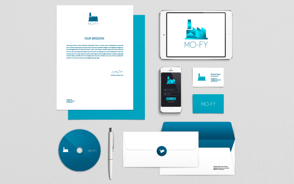 Branding Identity Mock-Up Vol4